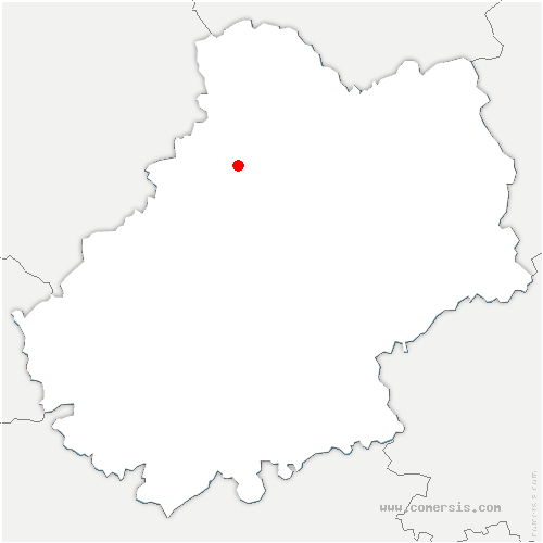 carte de localisation de Reilhaguet