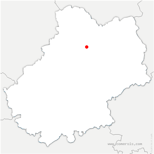 carte de localisation de Rignac