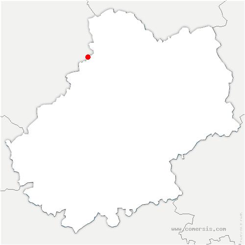 carte de localisation de Roc