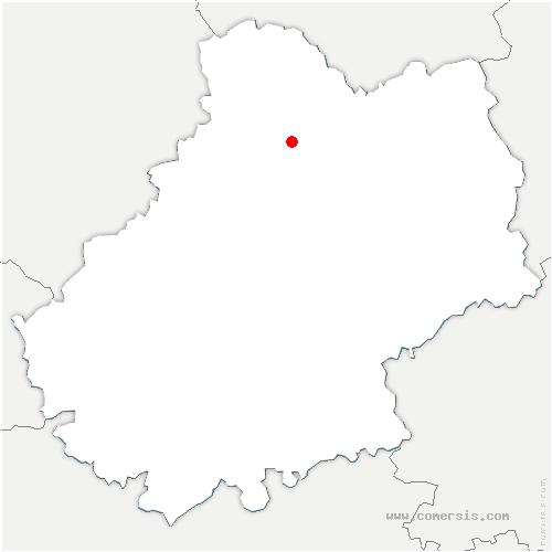 carte de localisation de Rocamadour