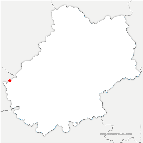 carte de localisation de Saint-Martin-le-Redon