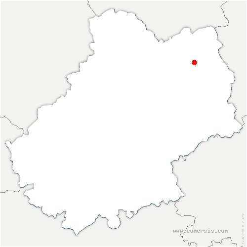 carte de localisation de Saint-Paul-de-Vern