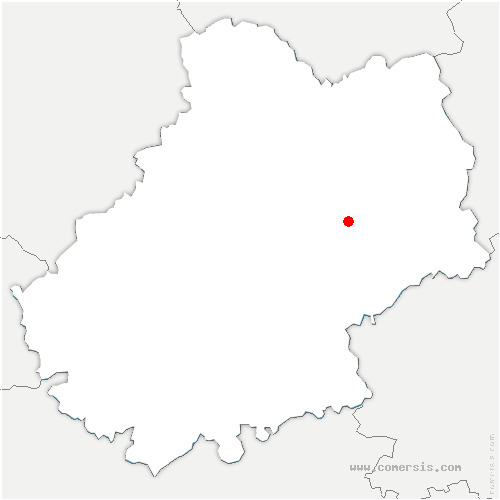 carte de localisation de Sonac