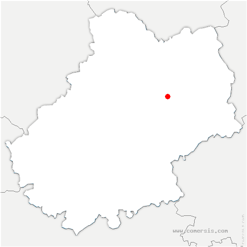 carte de localisation de Théminettes