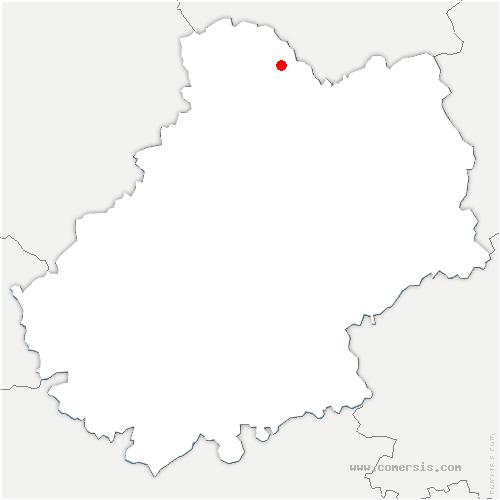 carte de localisation de Vayrac