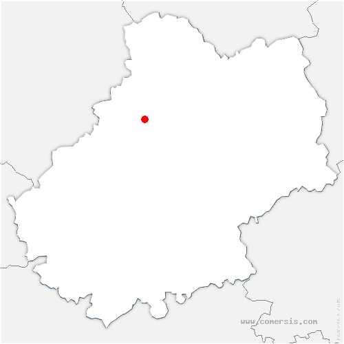 carte de localisation de Vigan