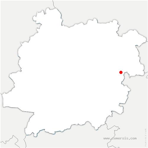 carte de localisation de Dausse