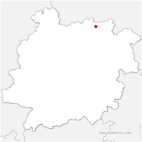 carte de localisation de Doudrac