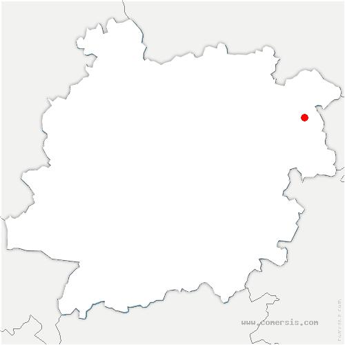 carte de localisation de Fumel