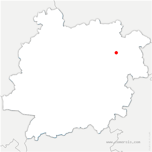 carte de localisation de Lacaussade