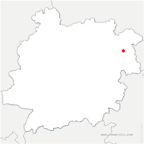 carte de localisation de Monsempron-Libos