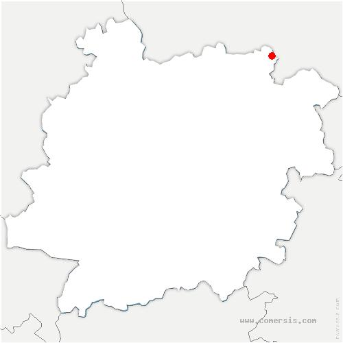 carte de localisation de Parranquet