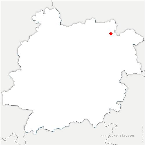 carte de localisation de Saint-Étienne-de-Villeréal