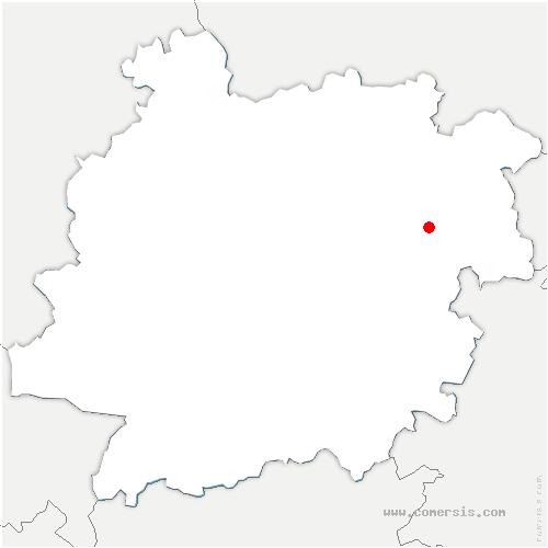carte de localisation de Saint-Sylvestre-sur-Lot