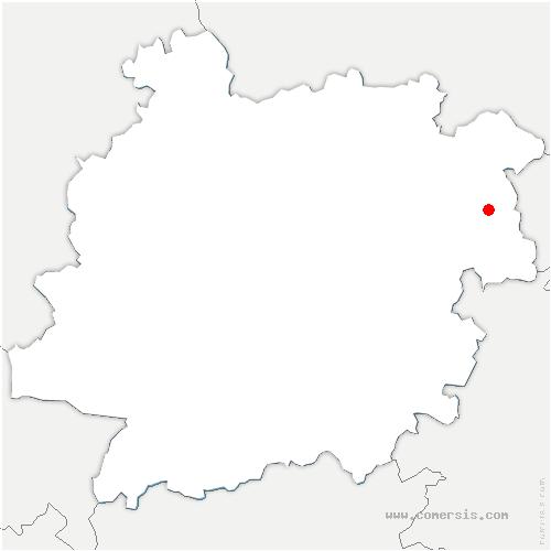 carte de localisation de Saint-Vite