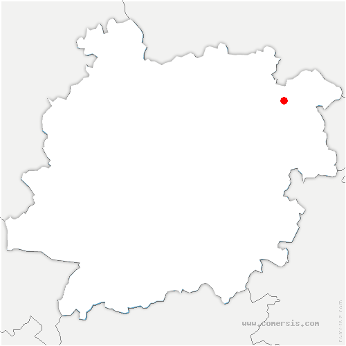carte de localisation de Salles