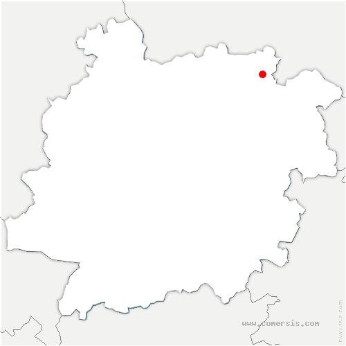 carte de localisation de Villeréal
