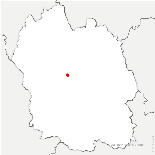 carte de localisation de Barjac