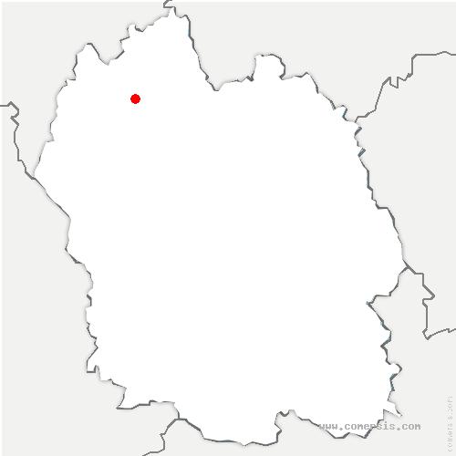 carte de localisation de Bessons
