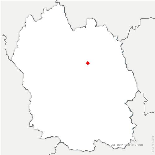 carte de localisation de Born