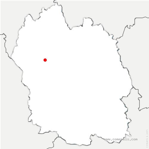 carte de localisation de Buisson