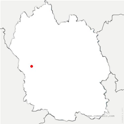 carte de localisation de Canourgue