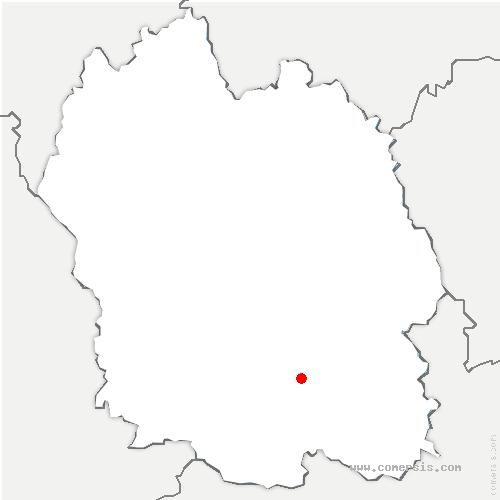 carte de localisation de Cans et Cévennes