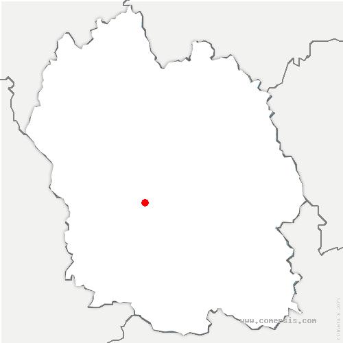 carte de localisation de Chanac