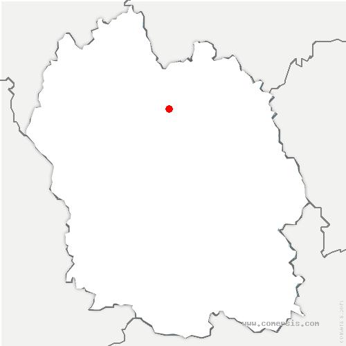 carte de localisation de Estables