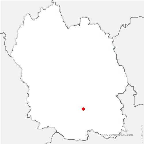 carte de localisation de Florac-Trois-Rivières