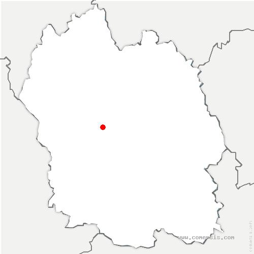 carte de localisation de Gabrias