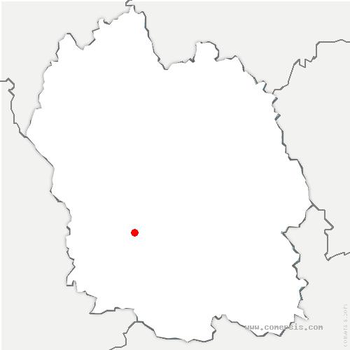 carte de localisation de Gorges du Tarn Causses