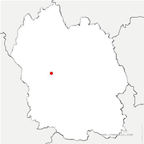 carte de localisation de Grèzes