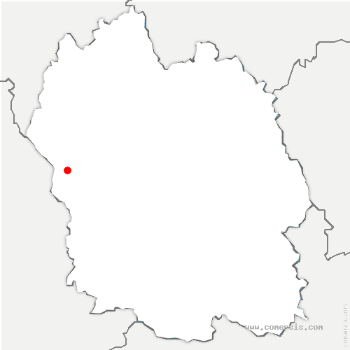 carte de localisation de Hermaux