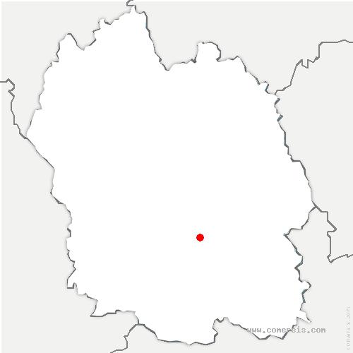 carte de localisation de Ispagnac