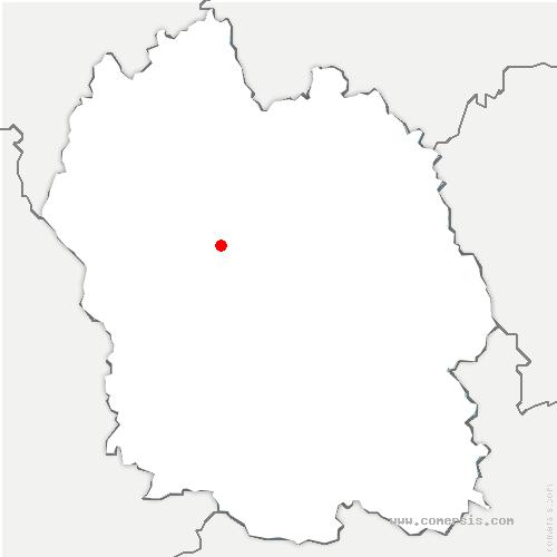 carte de localisation de Lachamp