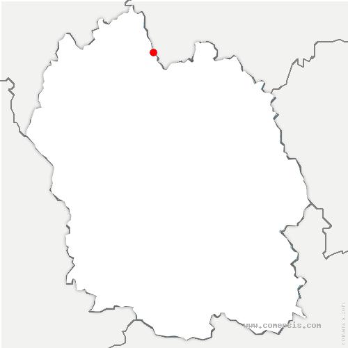 carte de localisation de Lajo