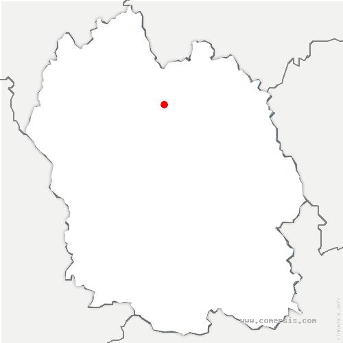 carte de localisation de Laubies