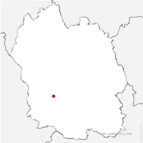 carte de localisation de Laval-du-Tarn