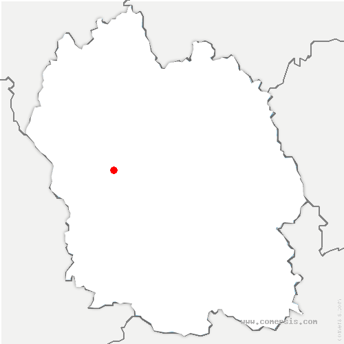 carte de localisation de Marvejols