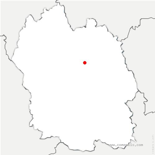 carte de localisation de Monts-de-Randon