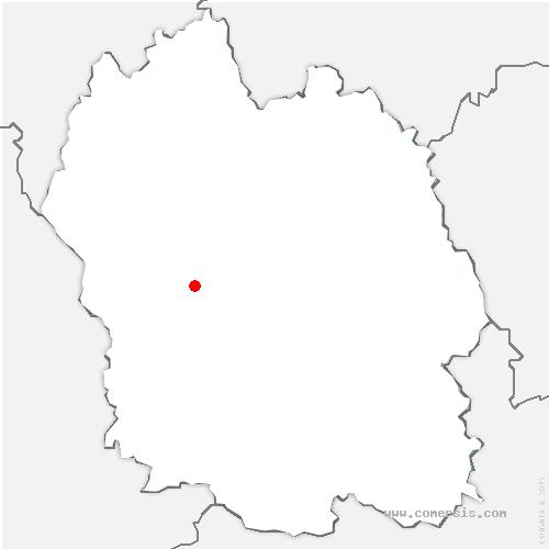 carte de localisation de Palhers