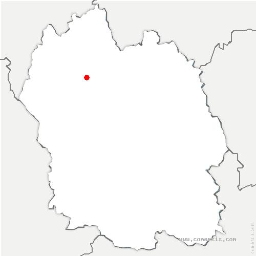 carte de localisation de Peyre-en-Aubrac