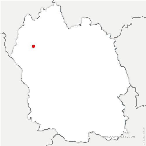 carte de localisation de Prinsuéjols-Malbouzon