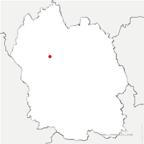 carte de localisation de Recoules-de-Fumas