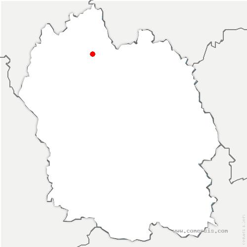 carte de localisation de Rimeize