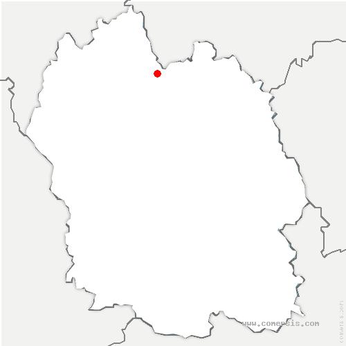carte de localisation de Saint-Alban-sur-Limagnole