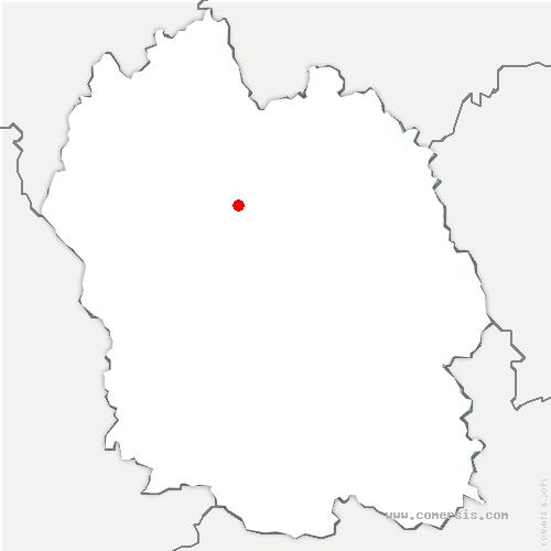 carte de localisation de Saint-Amans