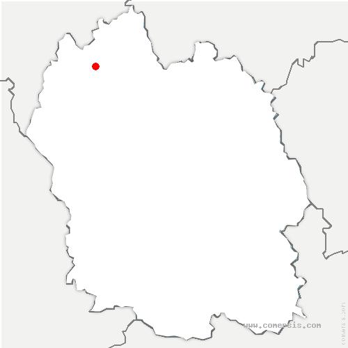 carte de localisation de Saint-Chély-d'Apcher