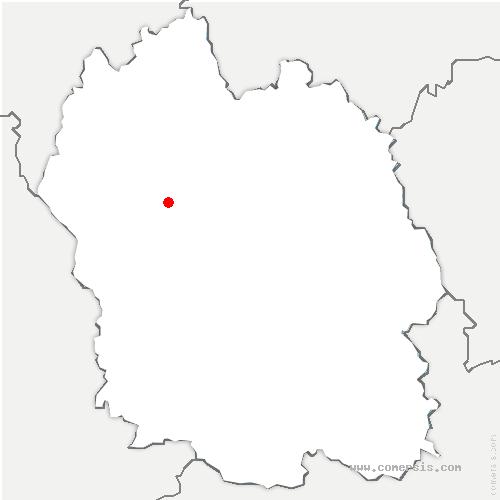 carte de localisation de Saint-Léger-de-Peyre